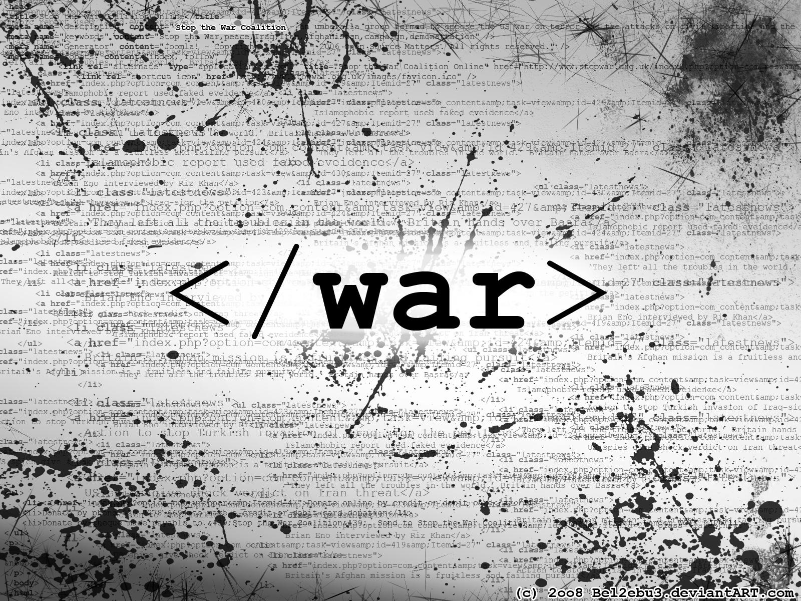War – The Final Jenga Piece